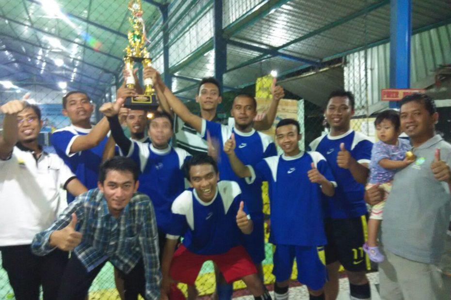 Tim Futsal PDPM Gunungkidul Juara Milad PDPM Muhammadiyah ke 83 Tahun 2015
